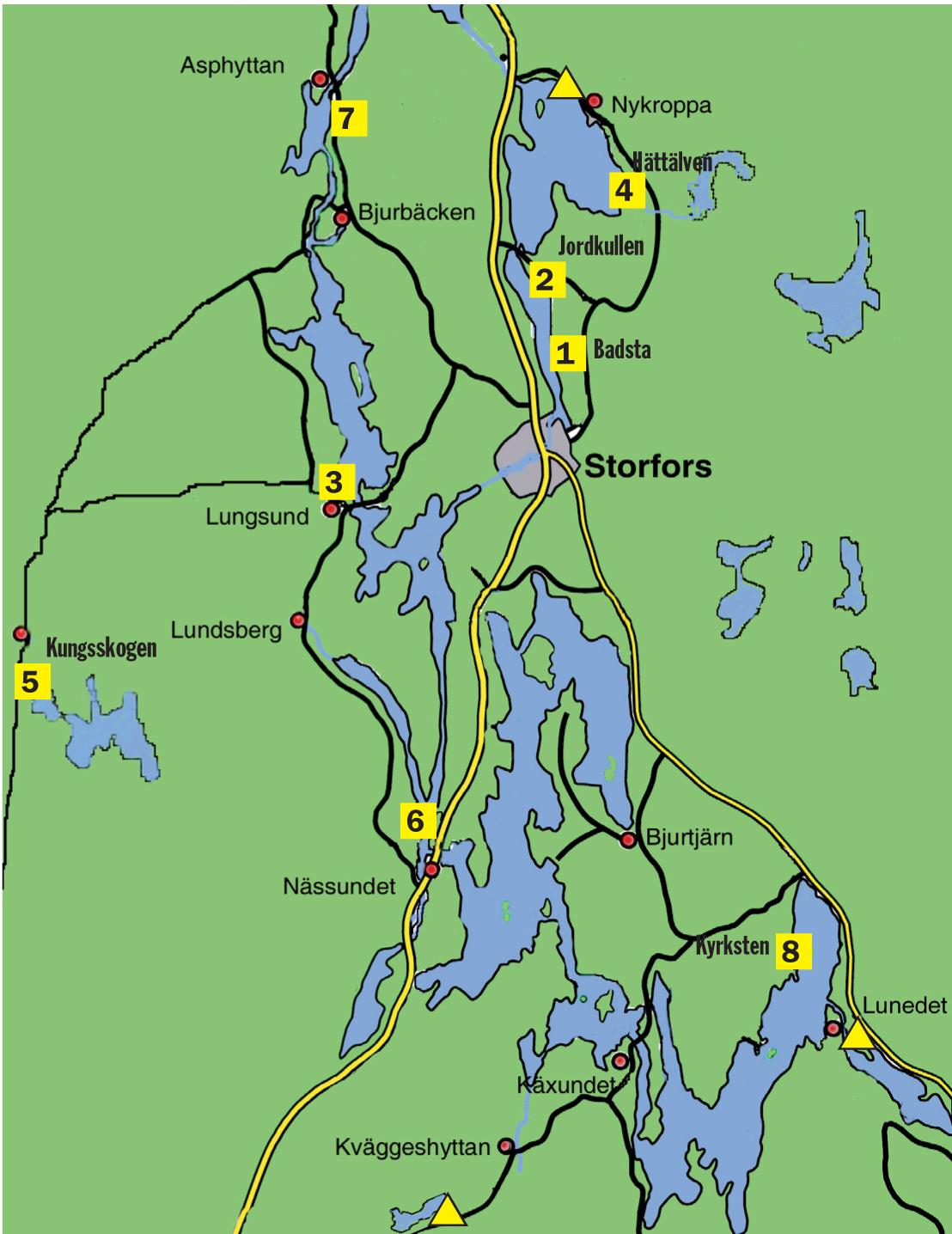 Badplatser Storfors Kommun